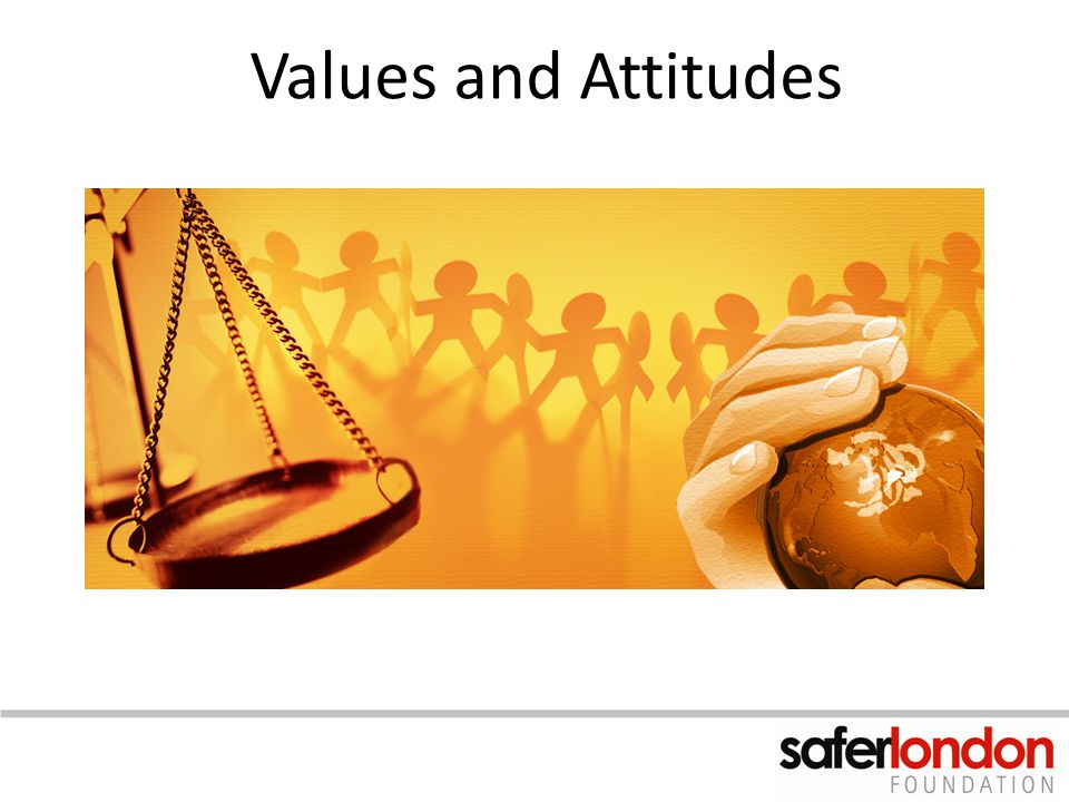 Values and Attitudes