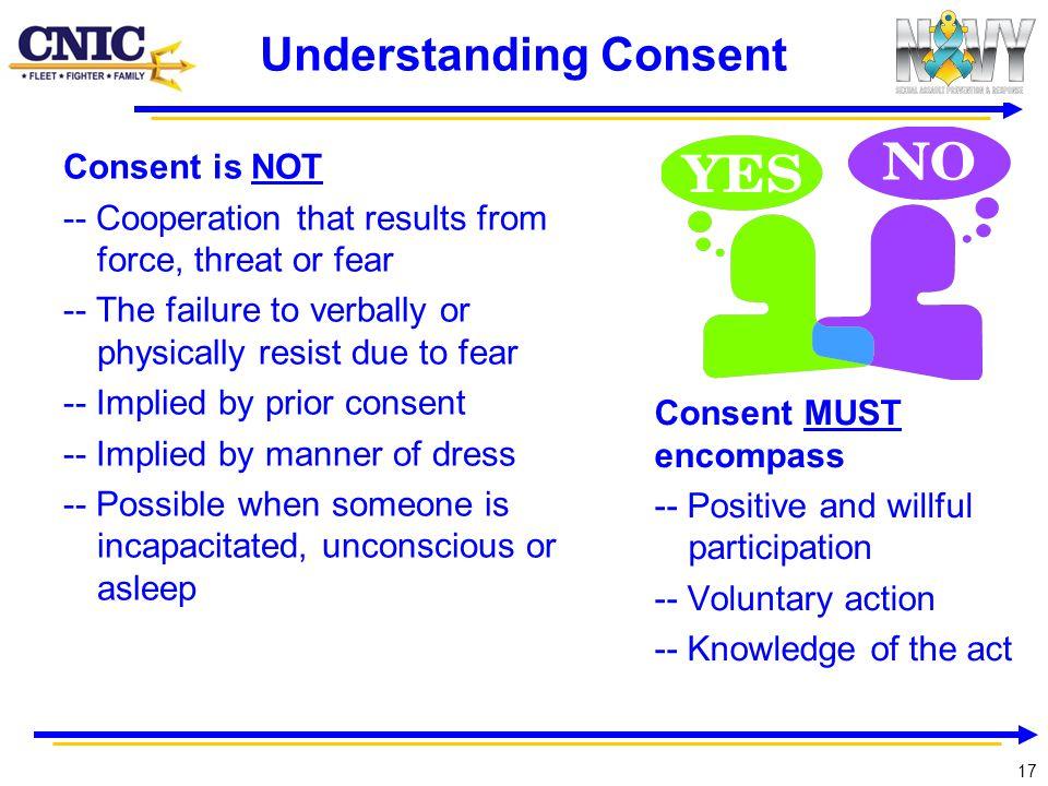 Understanding Consent