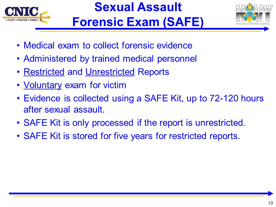 Sexual Assault Forensic Exam (SAFE)