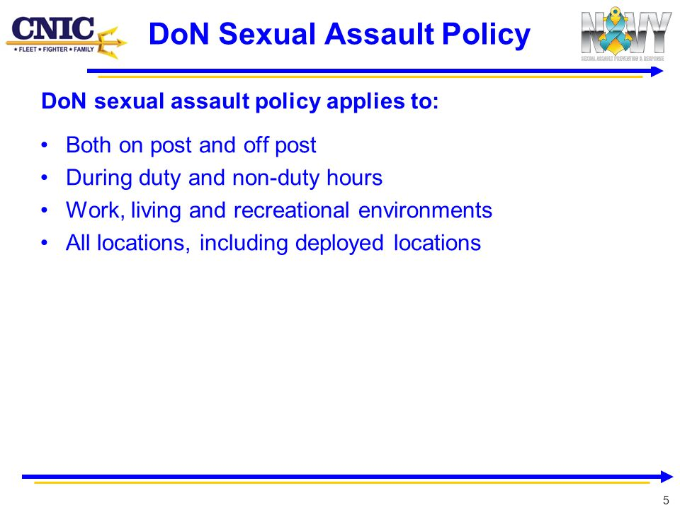 DoN Sexual Assault Policy