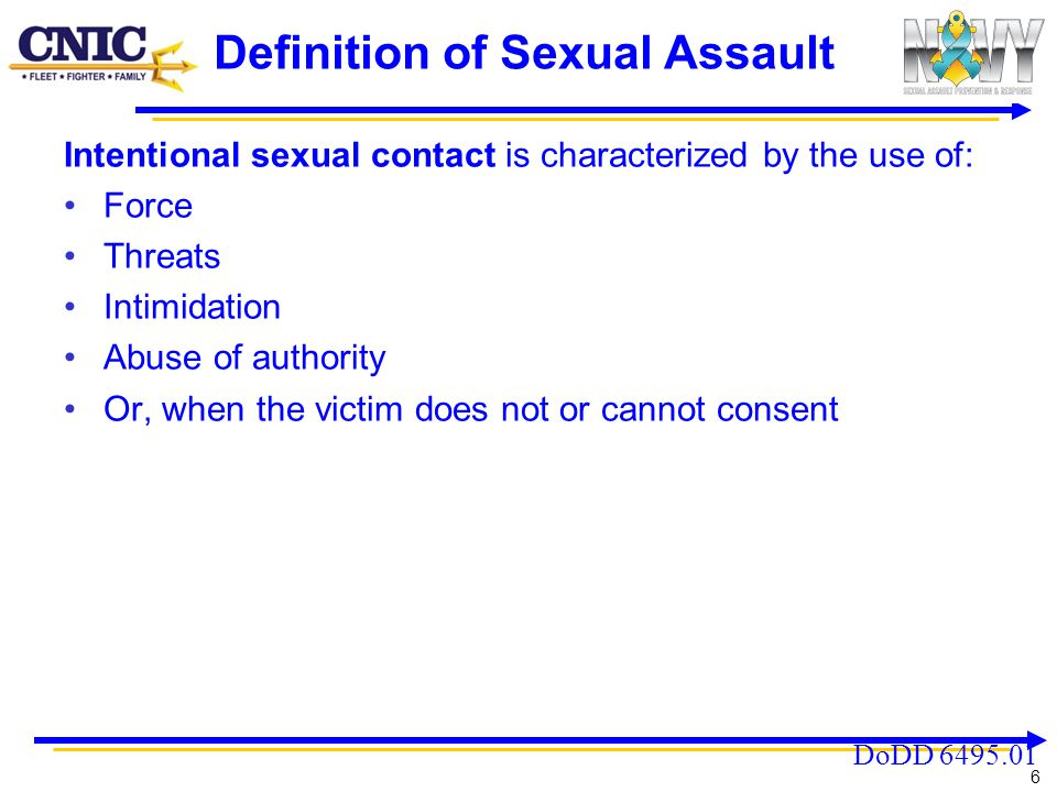 Definition of Sexual Assault