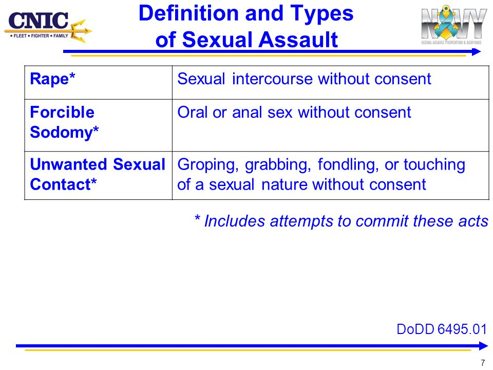 Definition and Types of Sexual Assault
