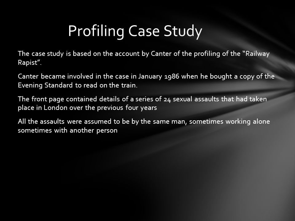 Profiling Case Study