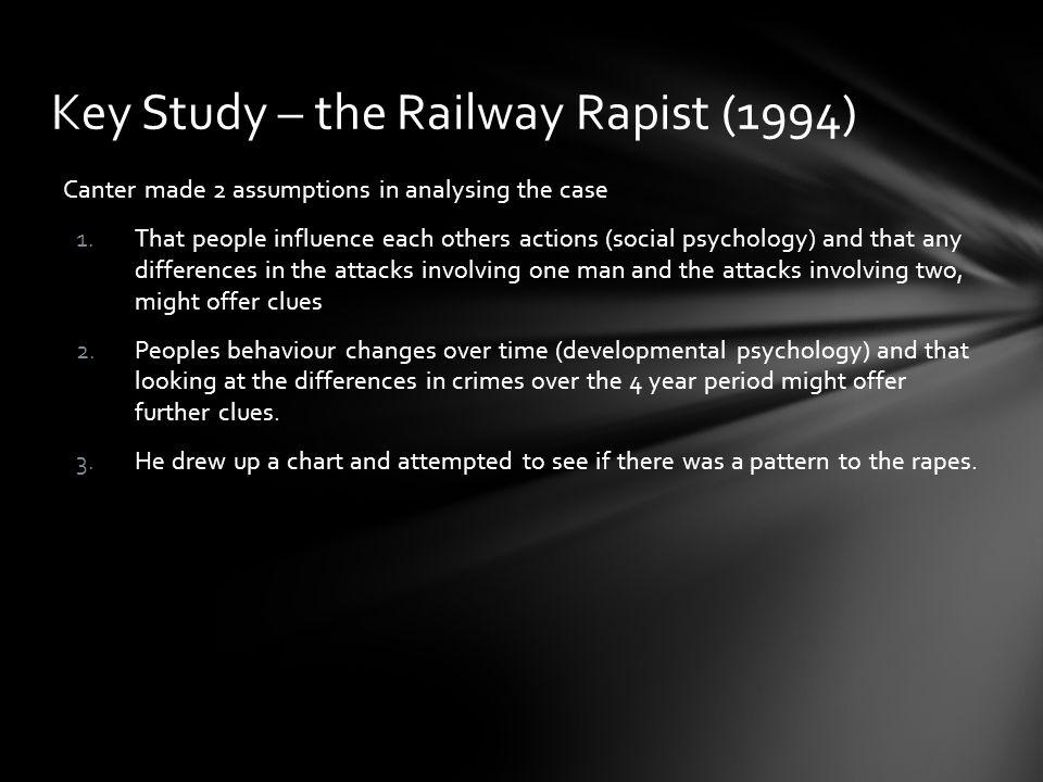 Key Study – the Railway Rapist (1994)