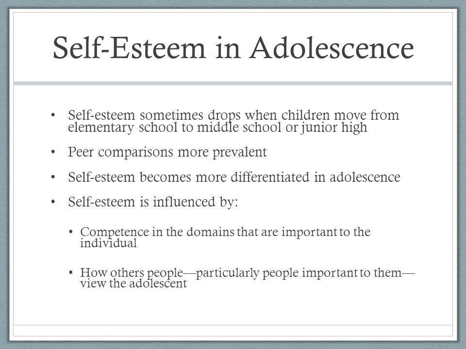 Self-Esteem in Adolescence