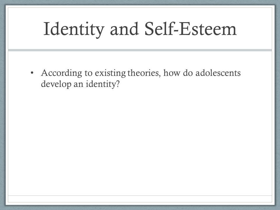Identity and Self-Esteem