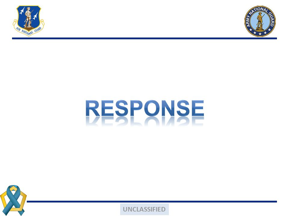 RESPONSE UNCLASSIFIED