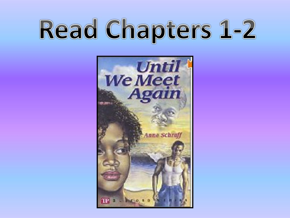 Read Chapters 1-2
