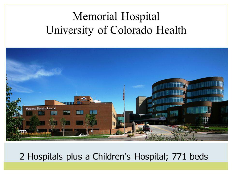 Memorial Hospital University of Colorado Health
