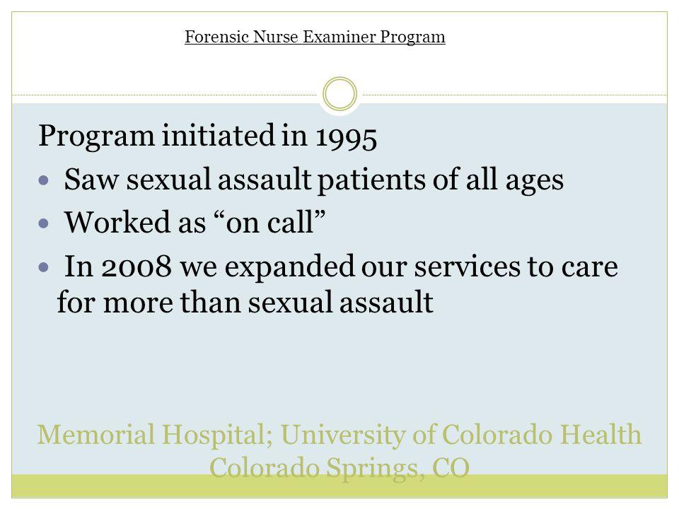 Memorial Hospital; University of Colorado Health Colorado Springs, CO