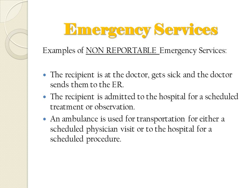 emergency room used for non urgent services The increasing provision of nonurgent care in american emergency rooms might medical treatment for urgent and for services provided at.
