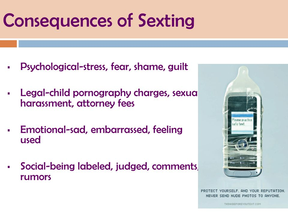 consequeances of sexting essay All about sexting sexting — or using your phone to send sexual pictures, videos, or texts — might seem like no big deal but before you hit send, there are some pretty big consequences to consider what is sexting sexting means using your phone, computer, or camera to take or send sexy.