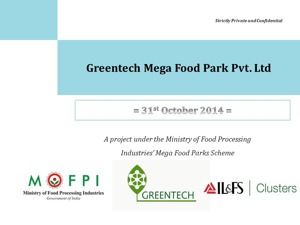Greentech Mega Food Park Pvt. Ltd