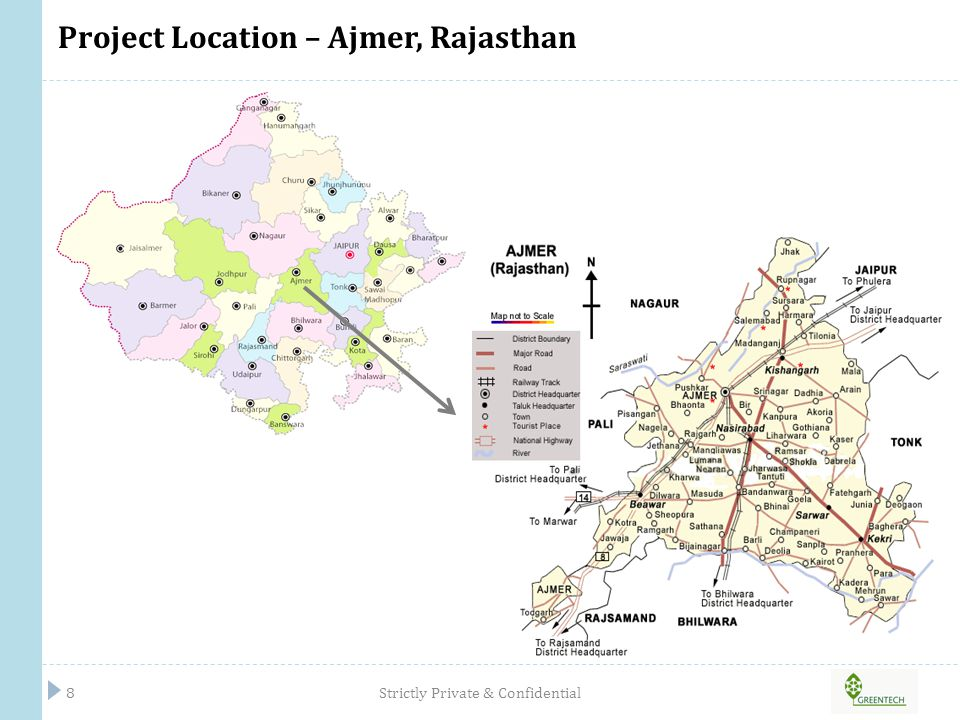 Project Location – Ajmer, Rajasthan