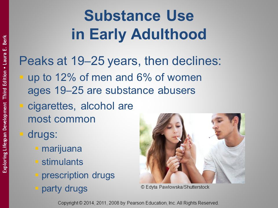 Substance Use in Early Adulthood