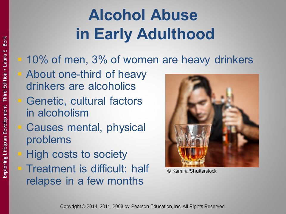 Alcohol Abuse in Early Adulthood
