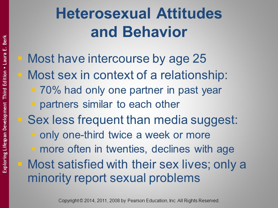 Heterosexual Attitudes and Behavior