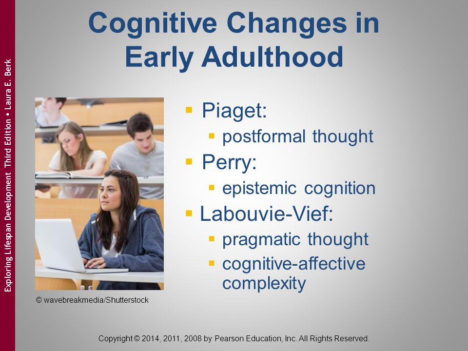 Cognitive Changes in Early Adulthood