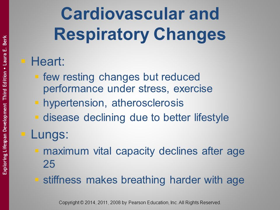 Cardiovascular and Respiratory Changes