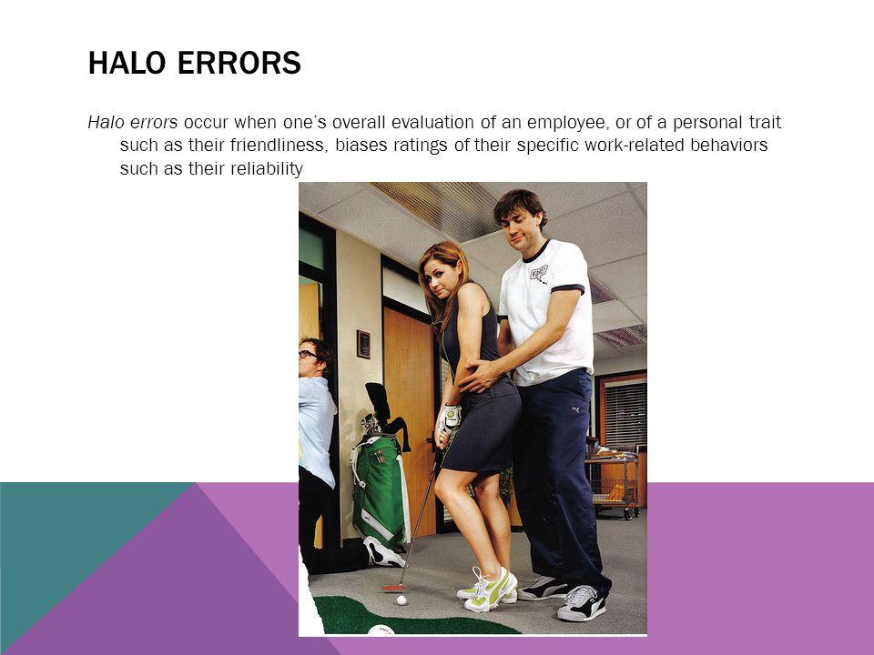 Halo errors