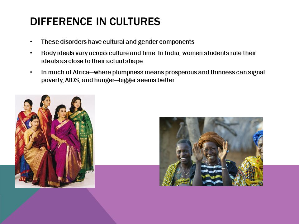 Difference in cultures