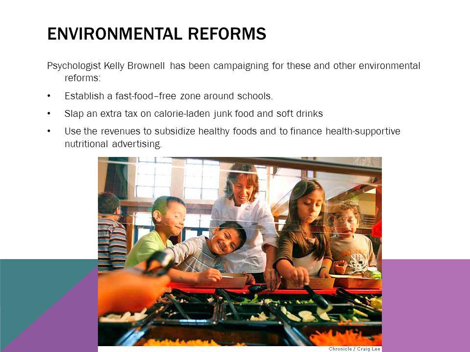 Environmental reforms