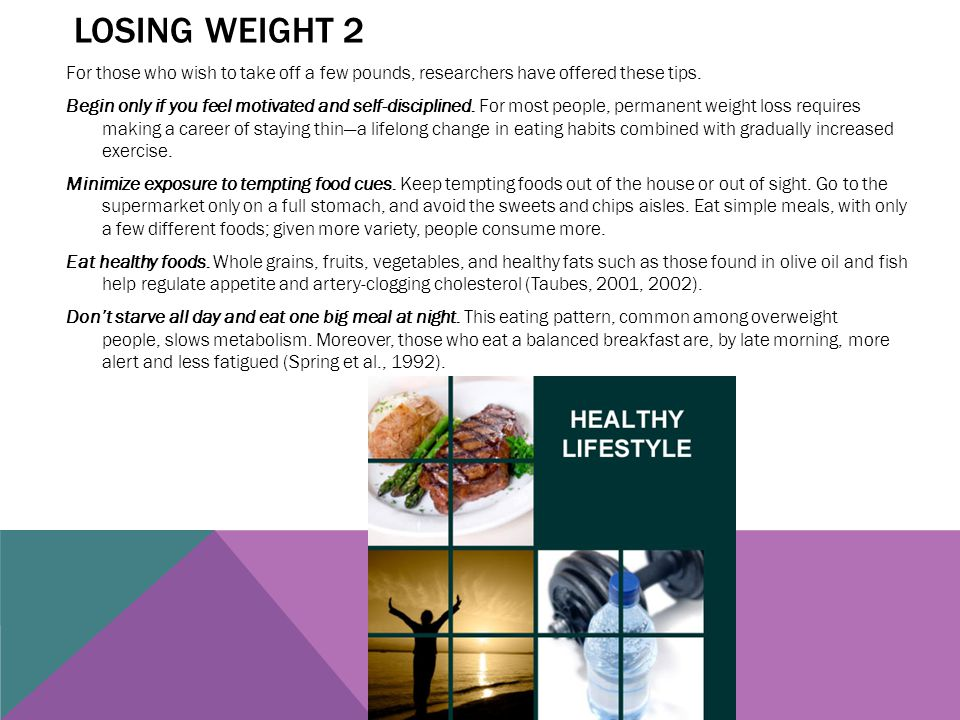 Losing weight 2