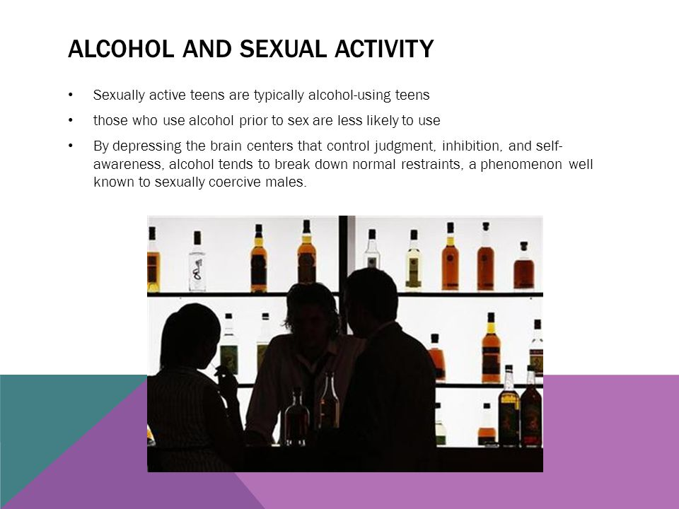 Alcohol Sexual Activity 47