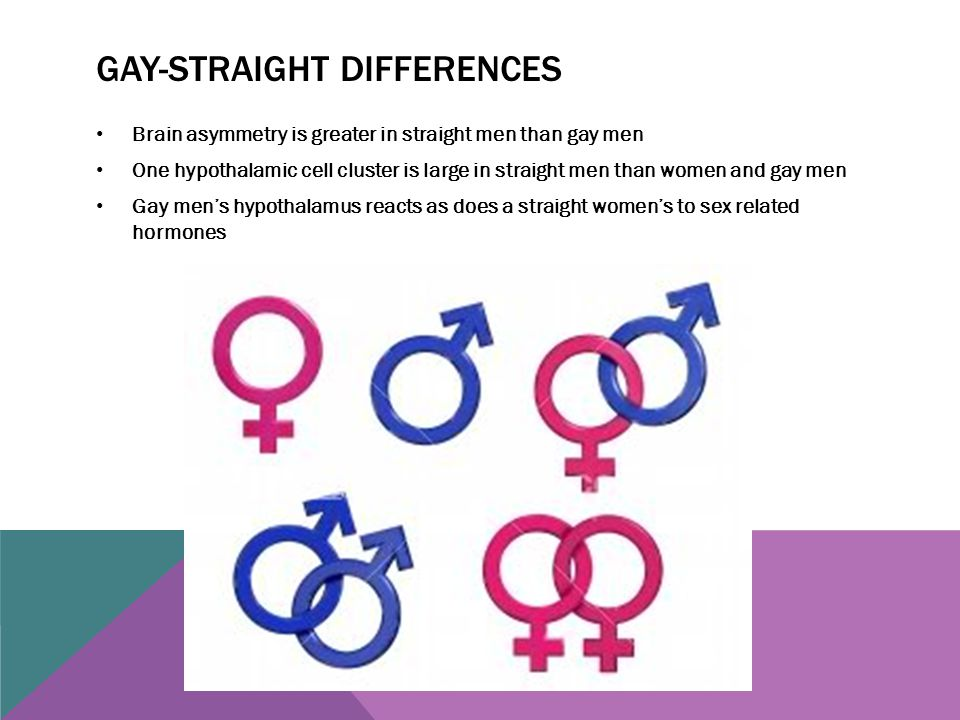 Gay-straight differences