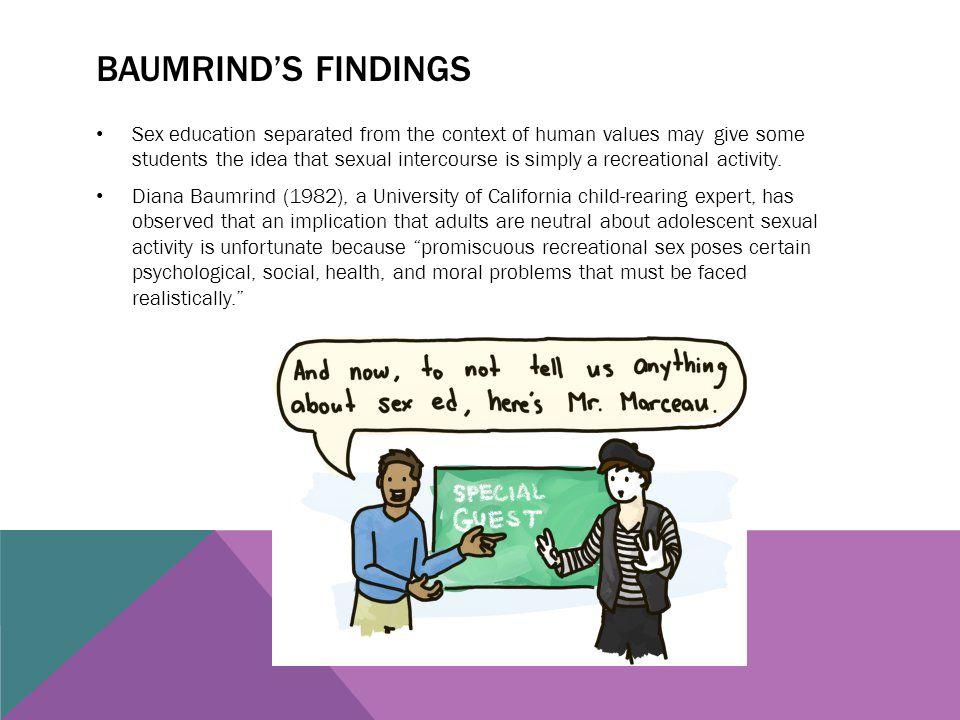 Baumrind's findings