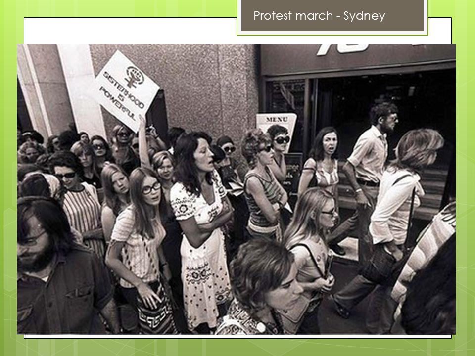 Protest march - Sydney