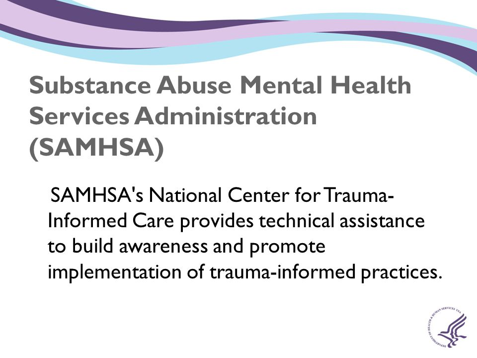 Substance Abuse Mental Health Services Administration (SAMHSA)
