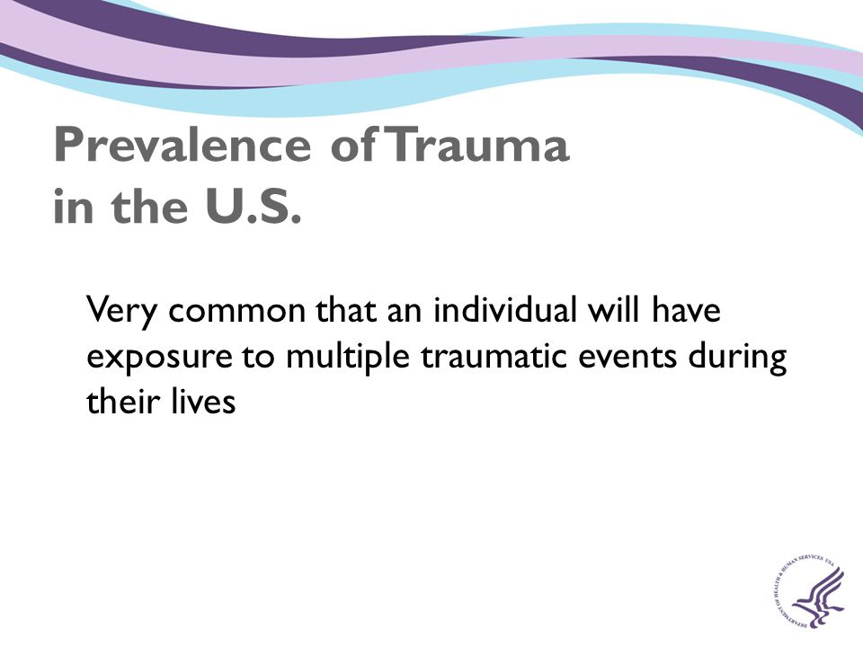 Prevalence of Trauma in the U.S.