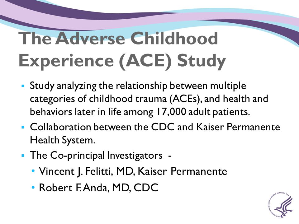 Adverse Childhood Experiences and the Lifelong ...