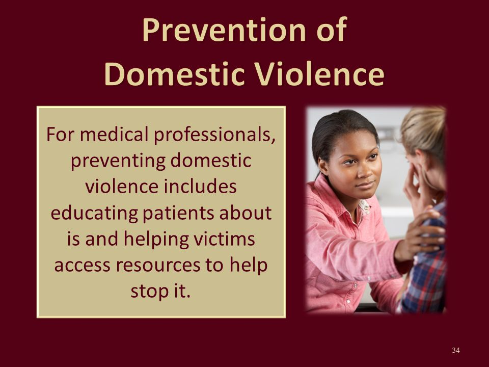 Prevention of Domestic Violence