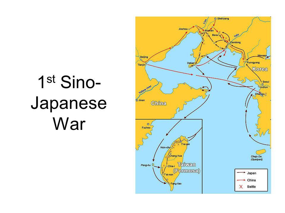 1st Sino-Japanese War