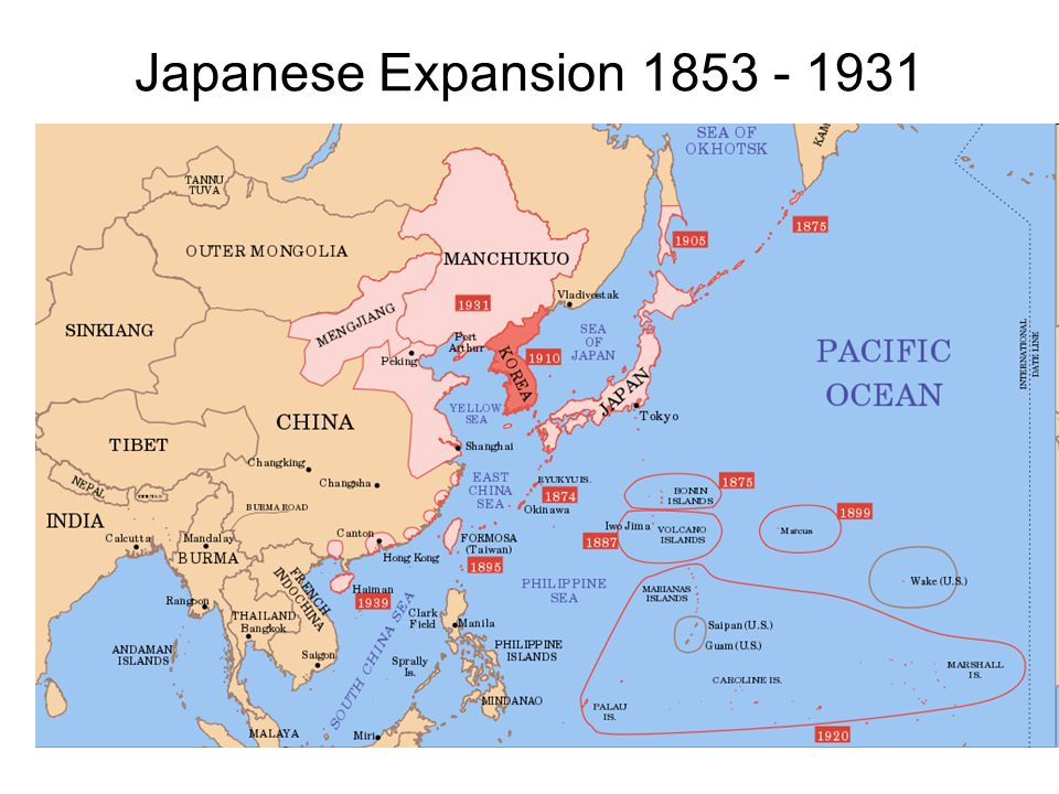 Japanese Expansion 1853 - 1931