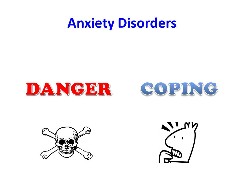 Anxiety Disorders DANGER COPING
