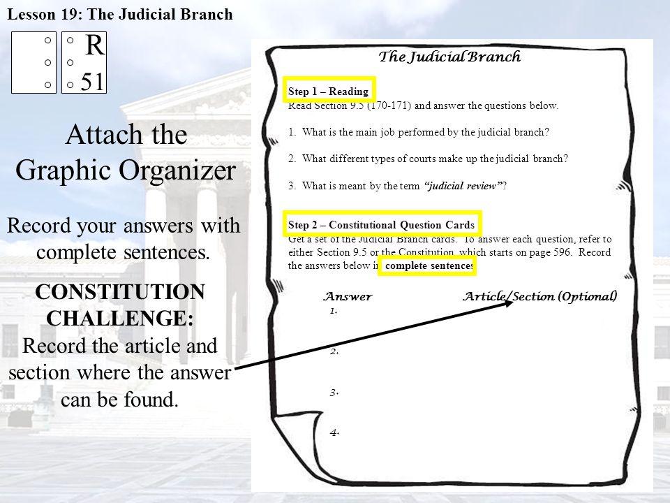 CONSTITUTION CHALLENGE: