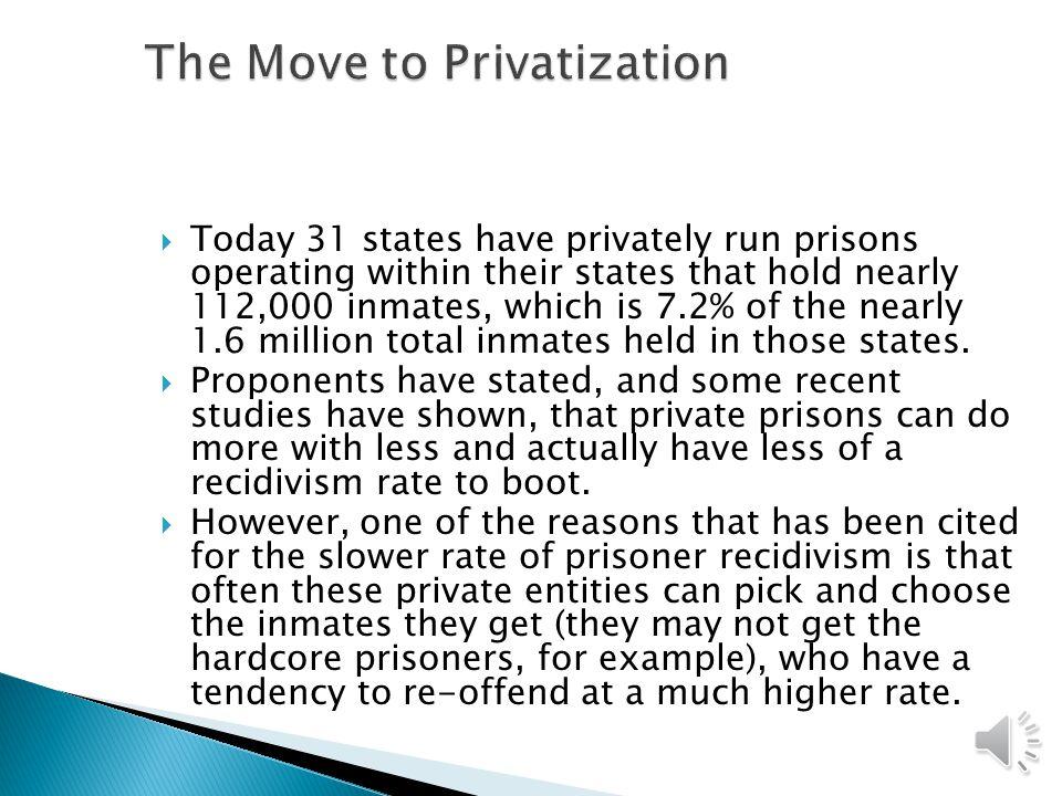 The Move to Privatization