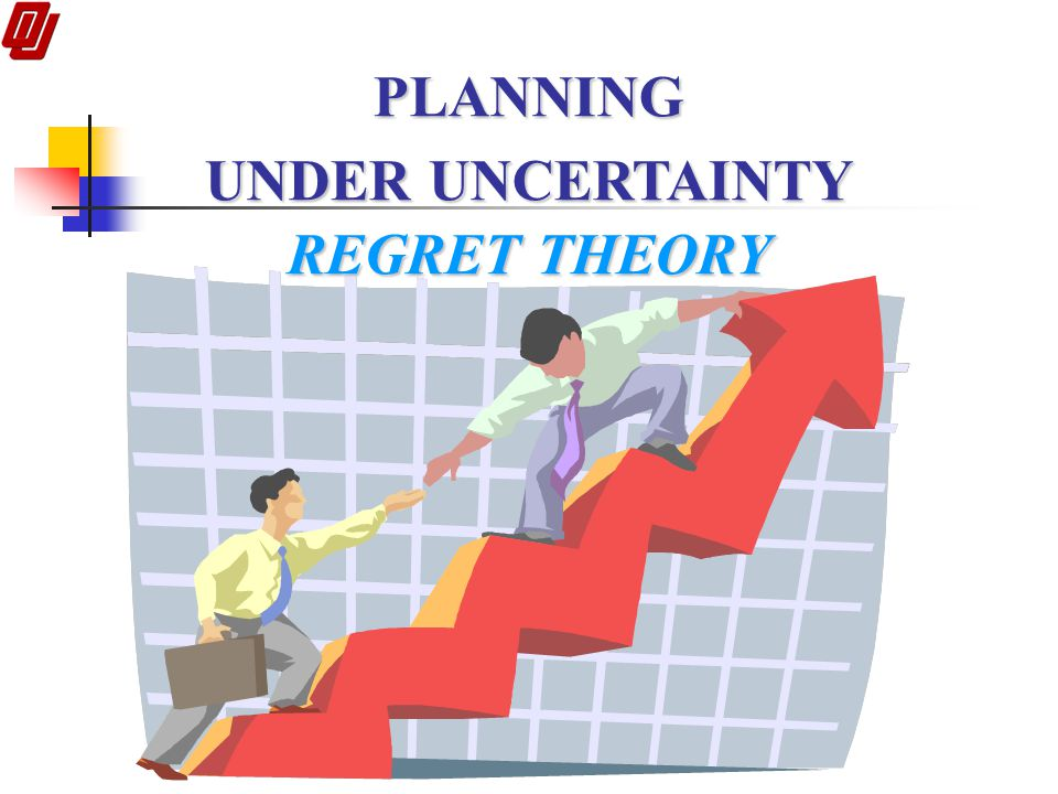 PLANNING UNDER UNCERTAINTY REGRET THEORY