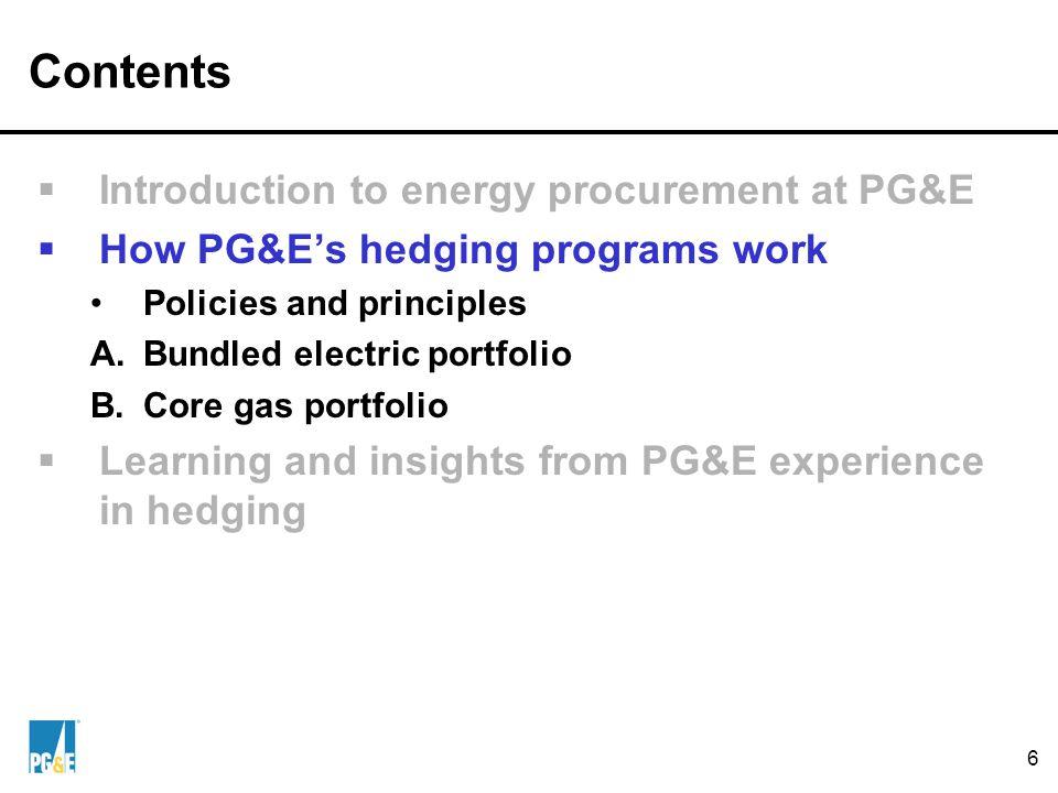 A. Bundled Electric Portfolio: PUC's Risk Policy