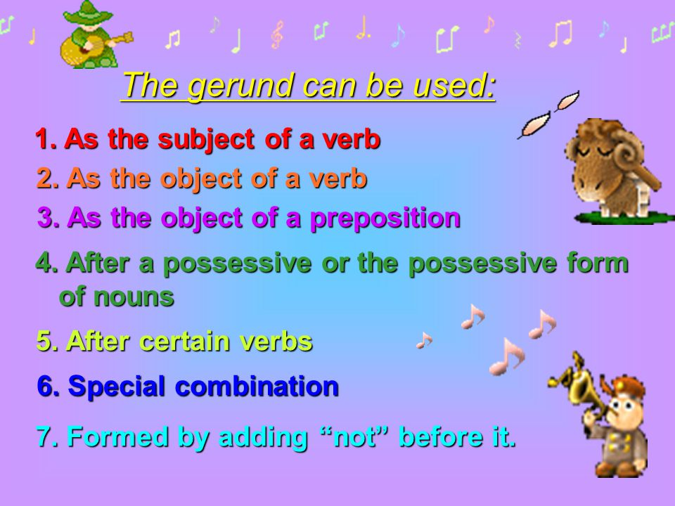 3. As the object of a preposition