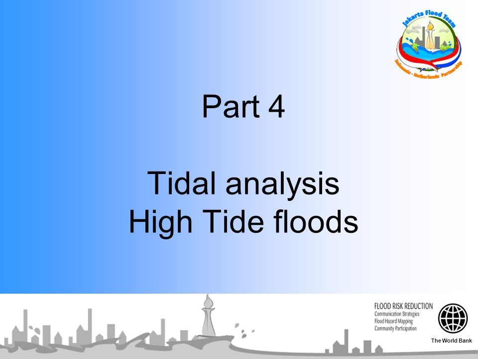 Part 4 Tidal analysis High Tide floods