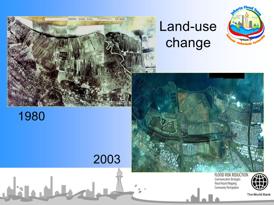 Land-use change 1980 2003 The World Bank