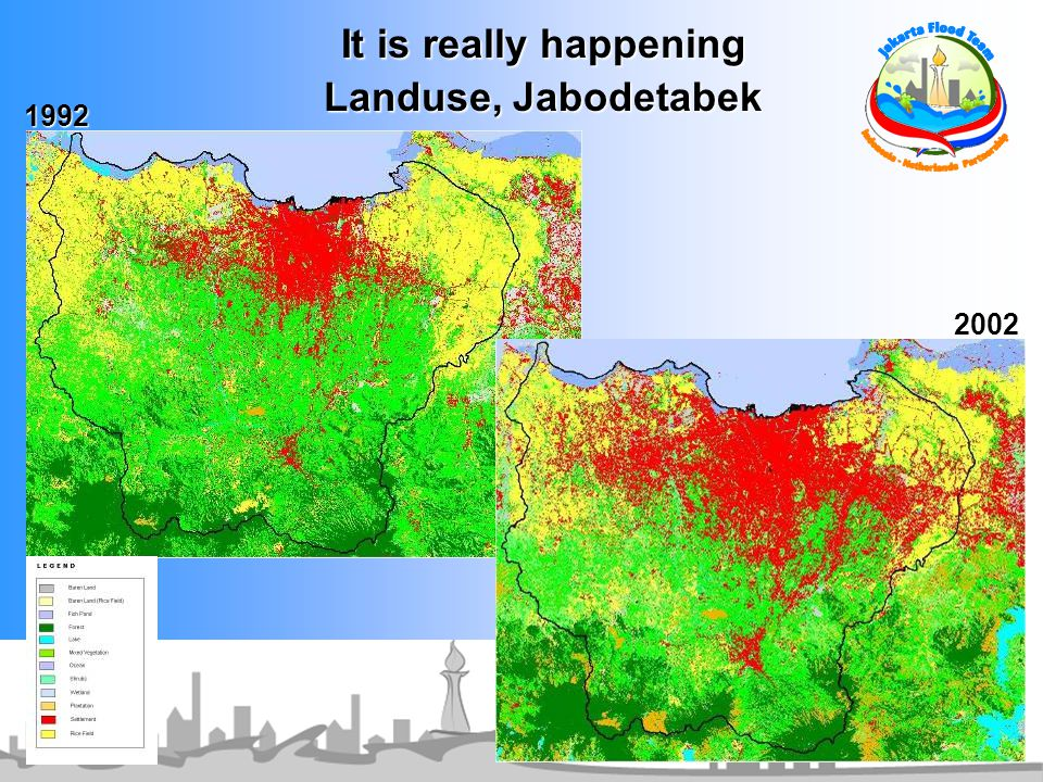 It is really happening Landuse, Jabodetabek