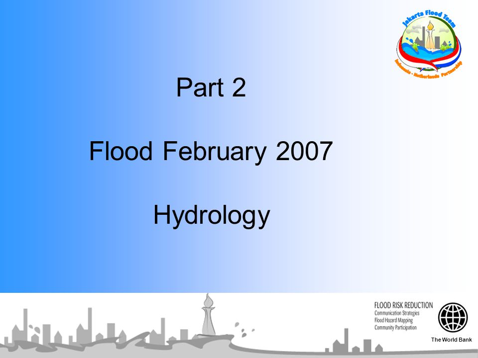 Part 2 Flood February 2007 Hydrology