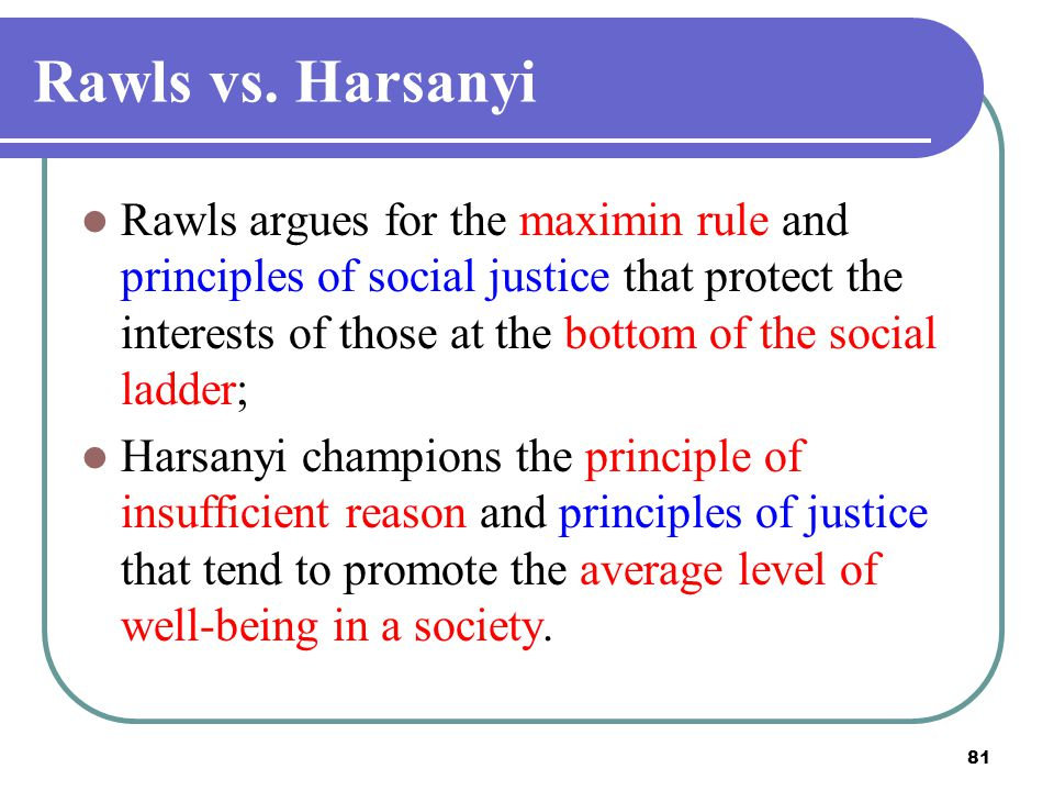 2017/4/14 Rawls vs. Harsanyi.