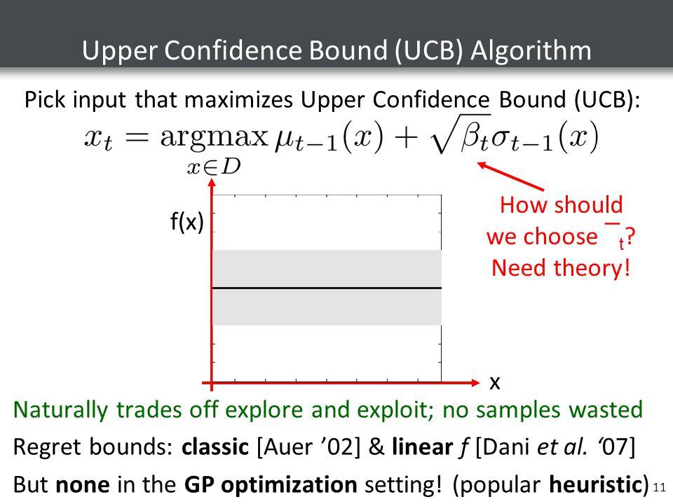 Upper Confidence Bound (UCB) Algorithm