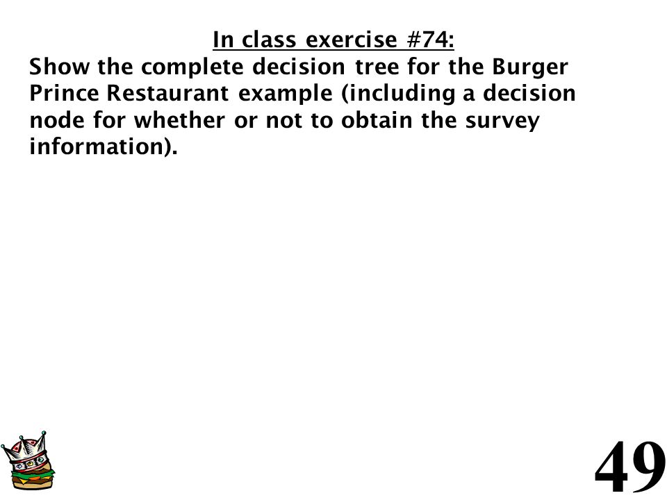 In class exercise #74: